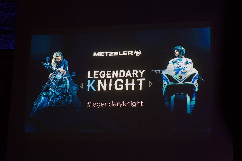 Metzeler Legendary Knight, pneumatici e star