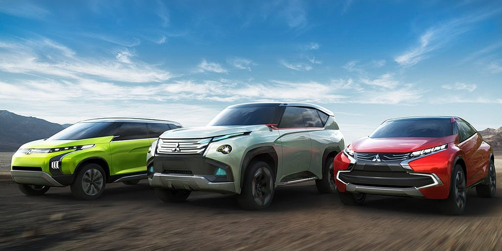 Road to Tokyo: 3 ibride plug-in per Mitsubishi