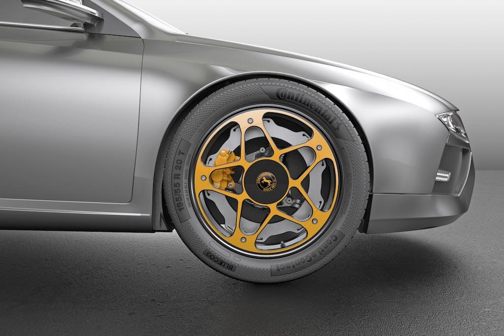 Continental New Wheel Concept: la ruota è 2.0