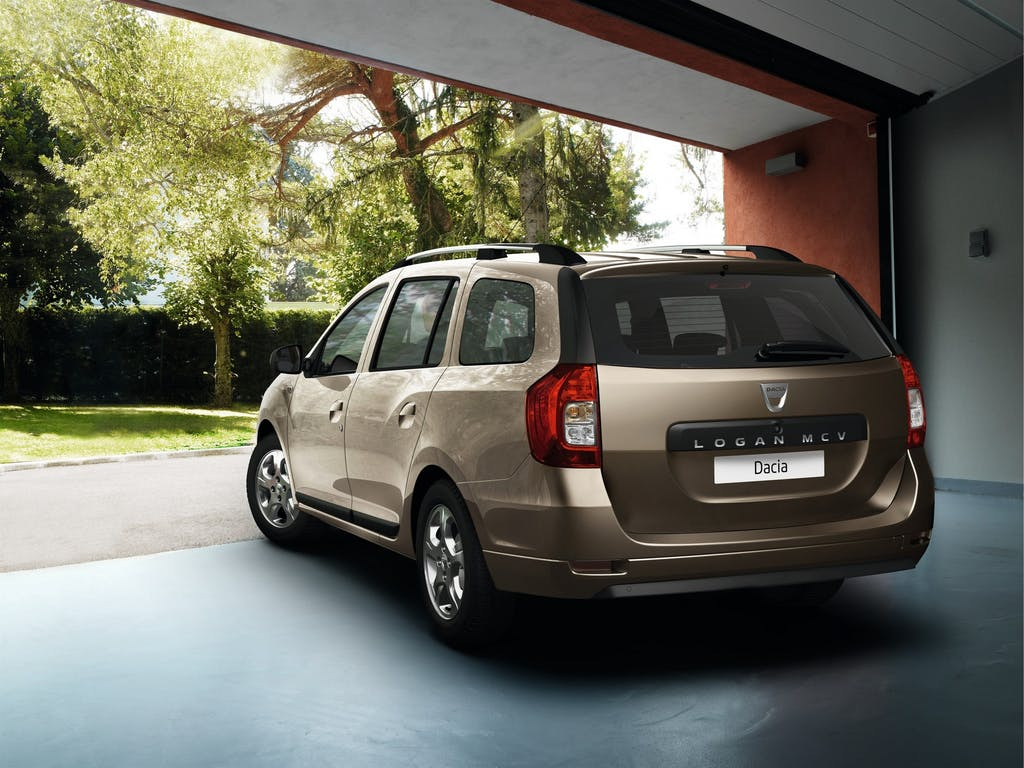 Prova Dacia Logan MCV model year 2014