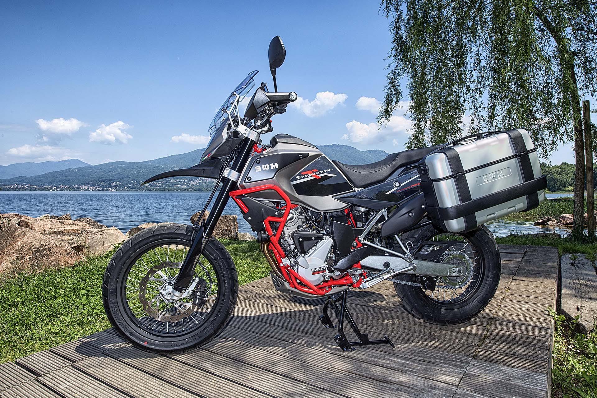 SWM Superdual GT Pack moto per neopatentati A2