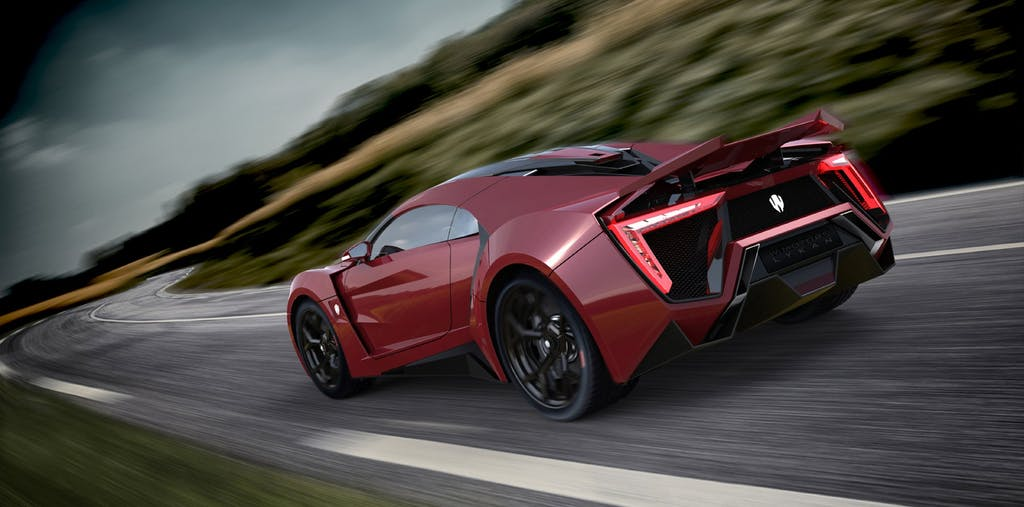 W Motors Lykan HyperSport: arabian madness
