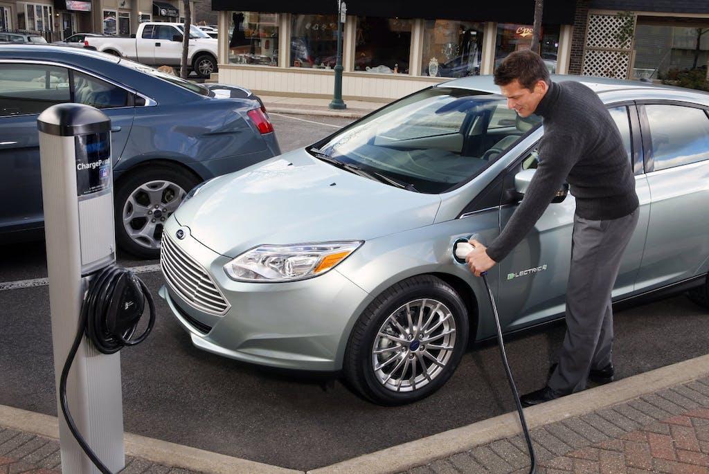 Ford Focus Elettrica al Motech