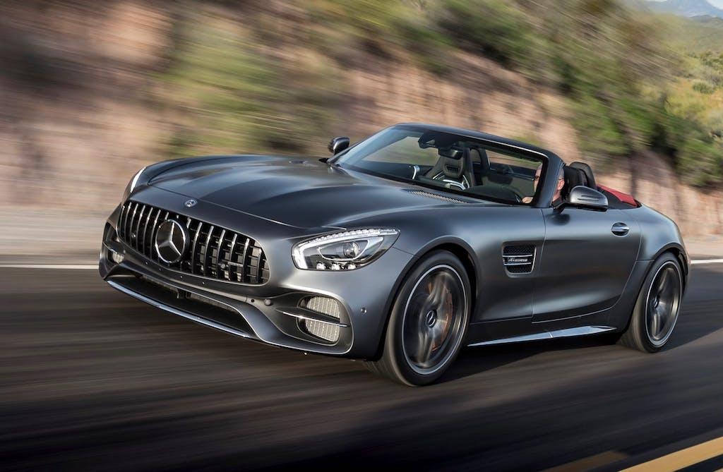 Prova Mercedes-AMG GT C Roadster