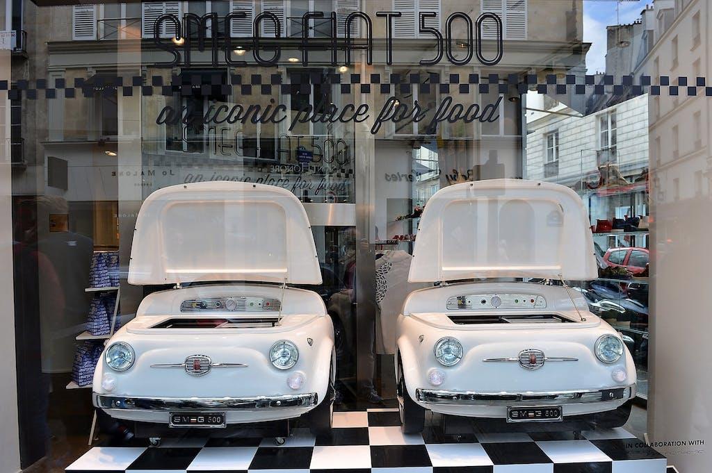 Smeg, la Fiat 500 diventa un frigorigero