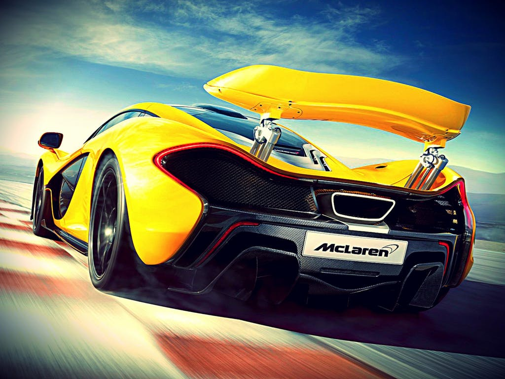 McLaren P1, l'ibrida da 350 all'ora