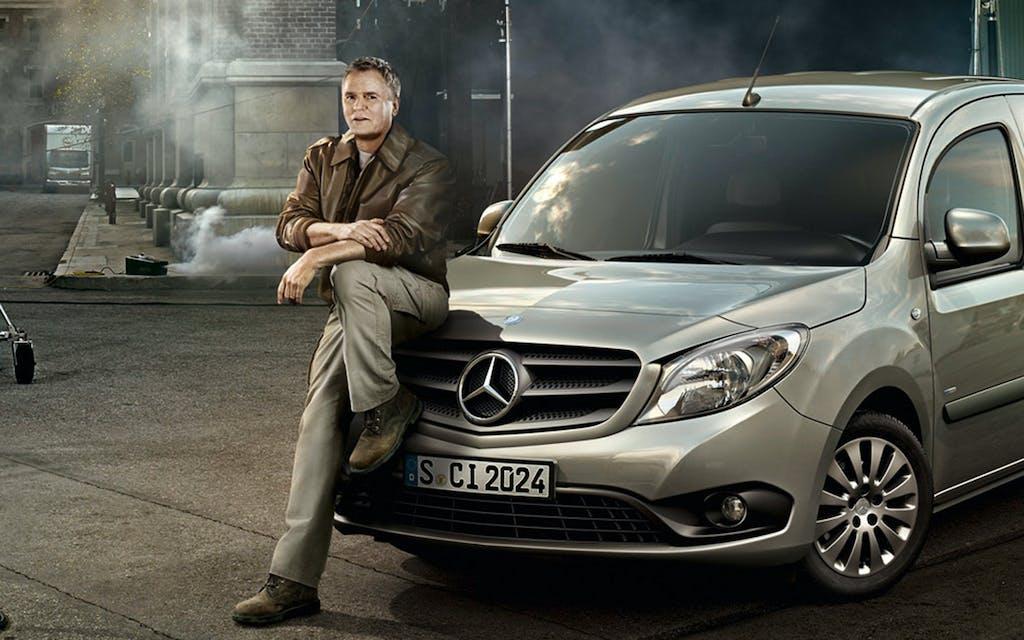 MacGyver testimonial per il van Mercedes Citan