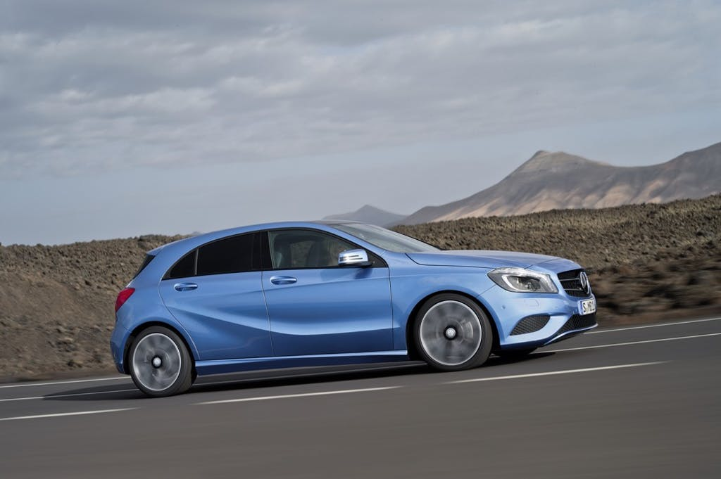 Prova Mercedes Classe A 250 Supersport