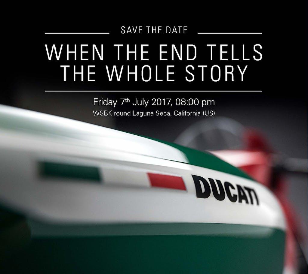 L'ultima Ducati Panigale in un video teaser