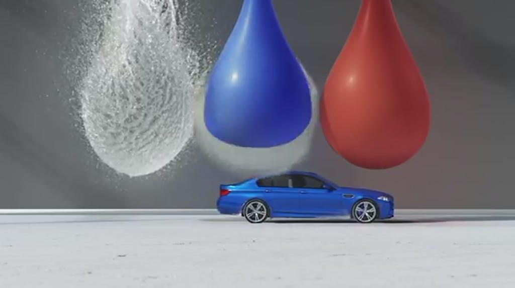 BMW M5 Super Slow Motion