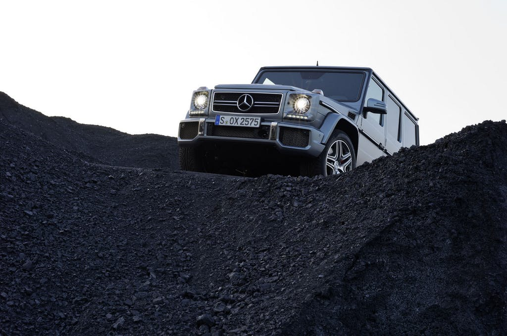 Prova Mercedes Classe G 63 AMG: impossible is nothing