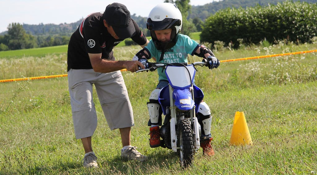 Baby Riding School, scuola guida moto per bambini