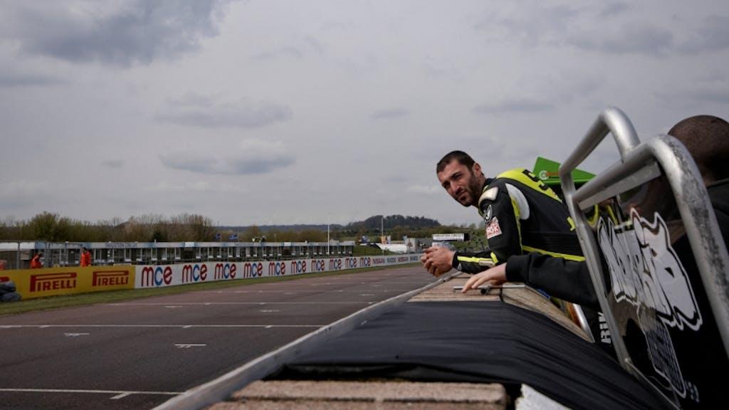 Alex Polita race 2 Thruxton BSB British Superbike