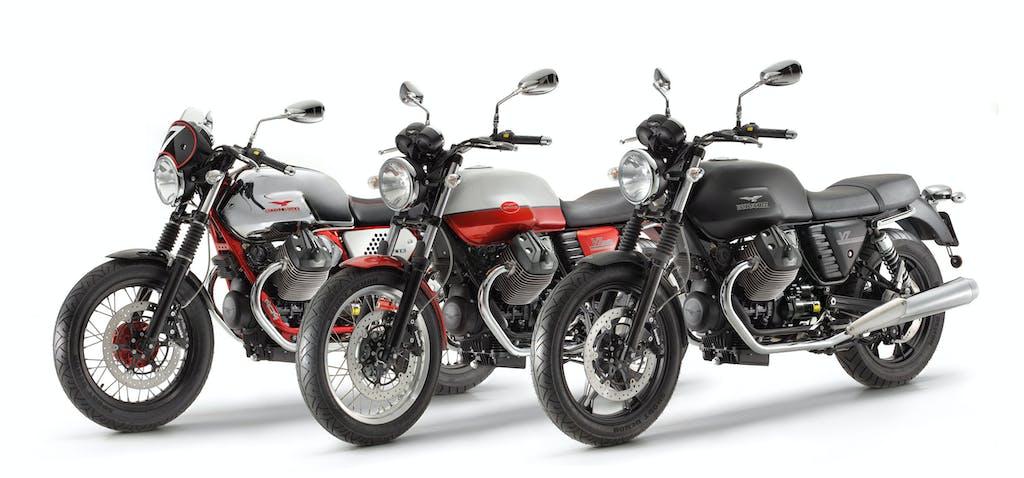 Moto Guzzi V7 Open Week