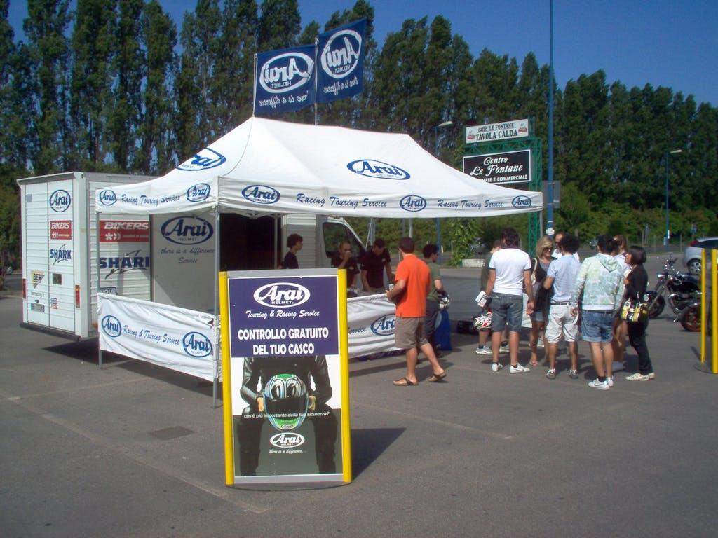 Arai Racing & Touring Service 2012