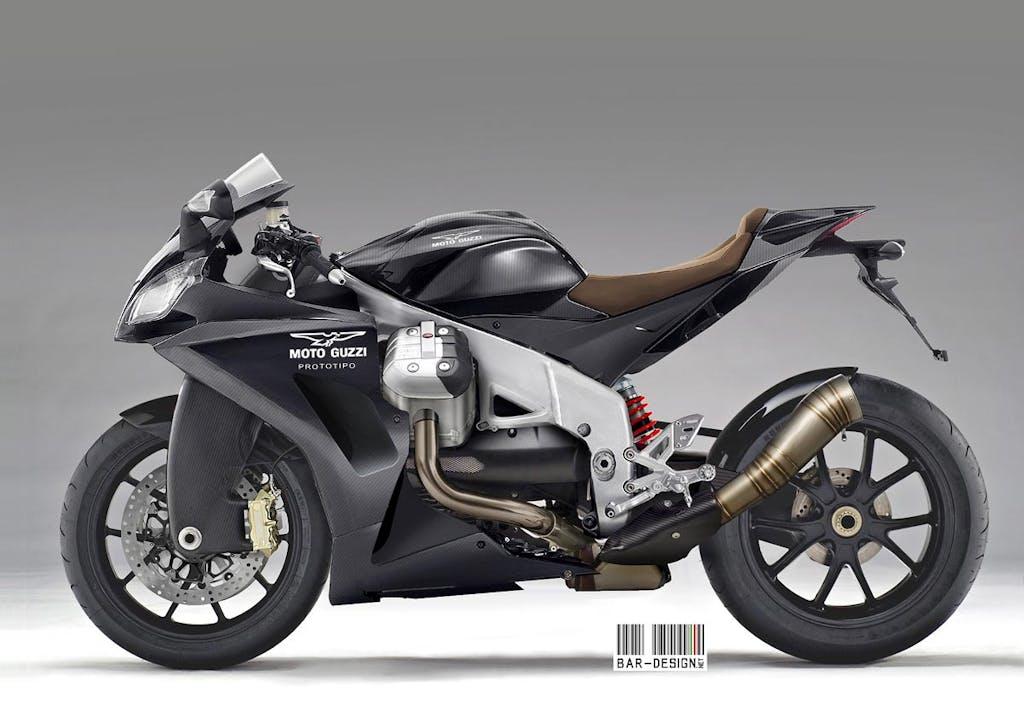 Moto Guzzi Sport Concept by Luca Bar