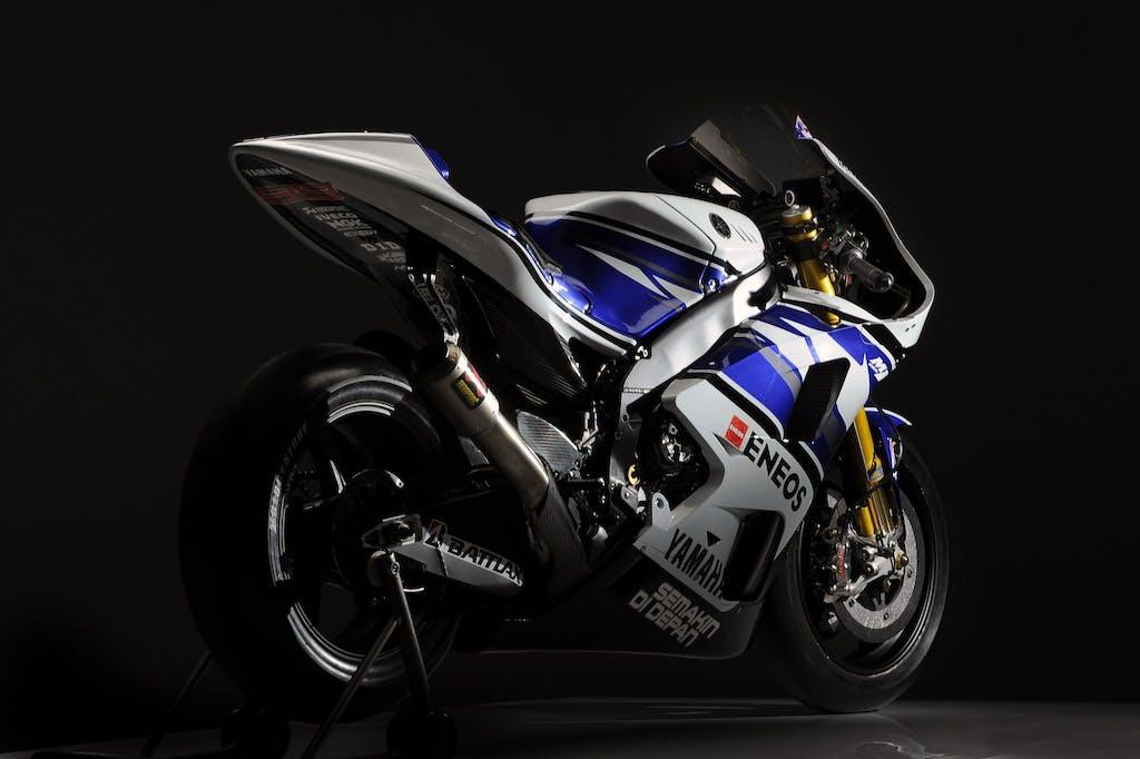 Yamaha YZR-M1 2012