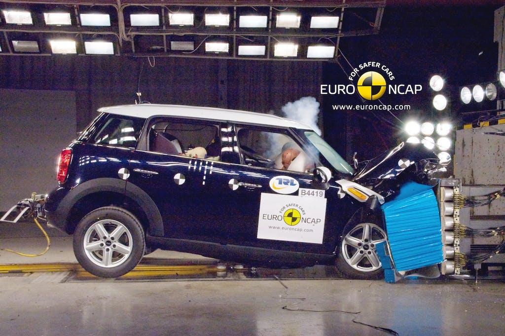 Euro NCAP e le cinque stelle
