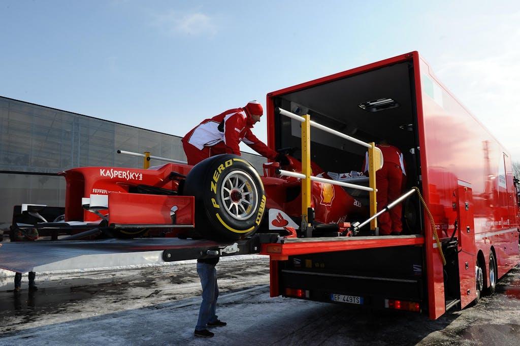 Ferrari F2012 test Jerez