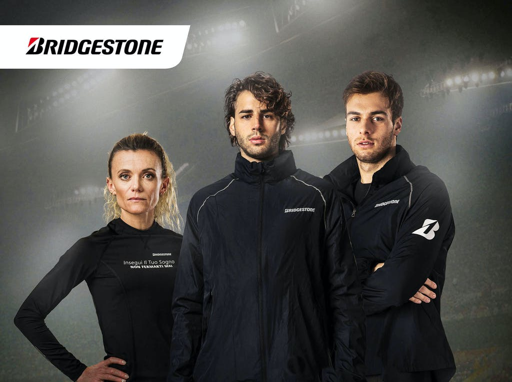 Bridgestone sogna insieme agli atleti olimpici
