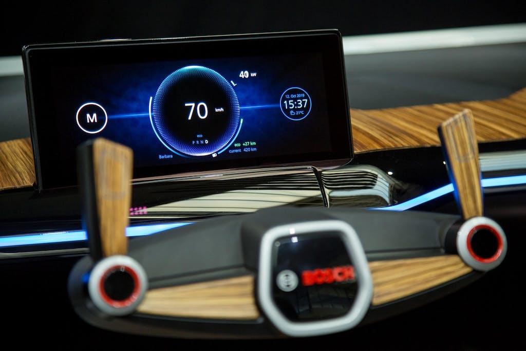 Bosch: l'auto del futuro in mostra a Ginevra