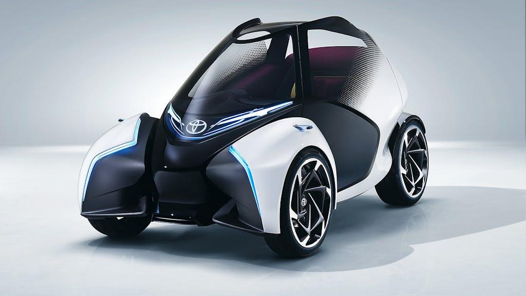 Toyota i-TRIL Concept: la mobilità del futuro