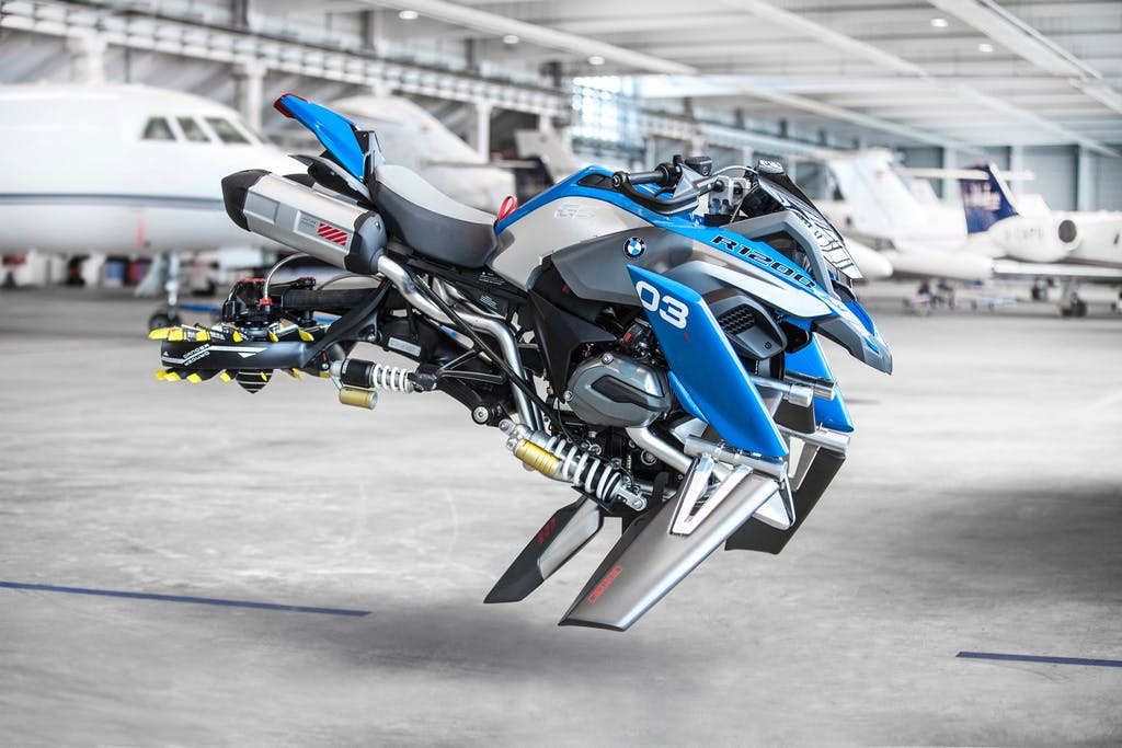 Lego Technic BMW R 1200 GS Adventure & Hover Ride