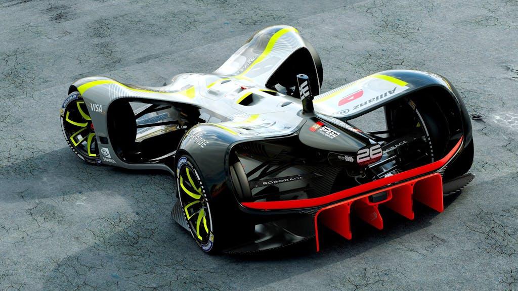 Roborace: pronta la Robocar per le gare senza pilota