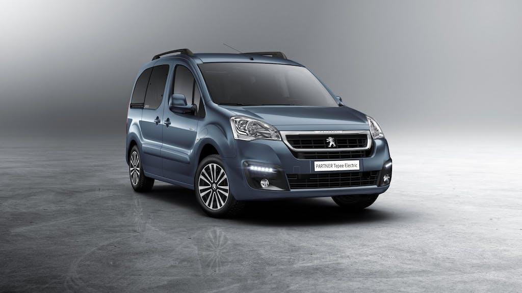 Peugeot Partner Tepee Electric: la multispazio è green
