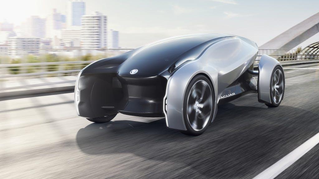 Jaguar Future-Type: l'auto del 2040
