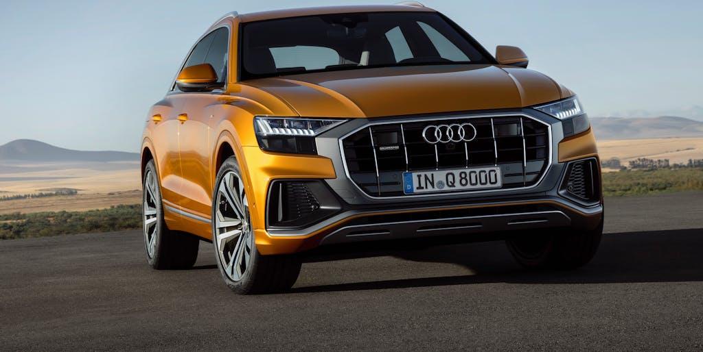 Audi Q8, la SUV-Coupé dei quattro anelli