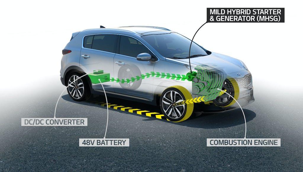 Kia, arriva il Mild-Hybrid sul Diesel
