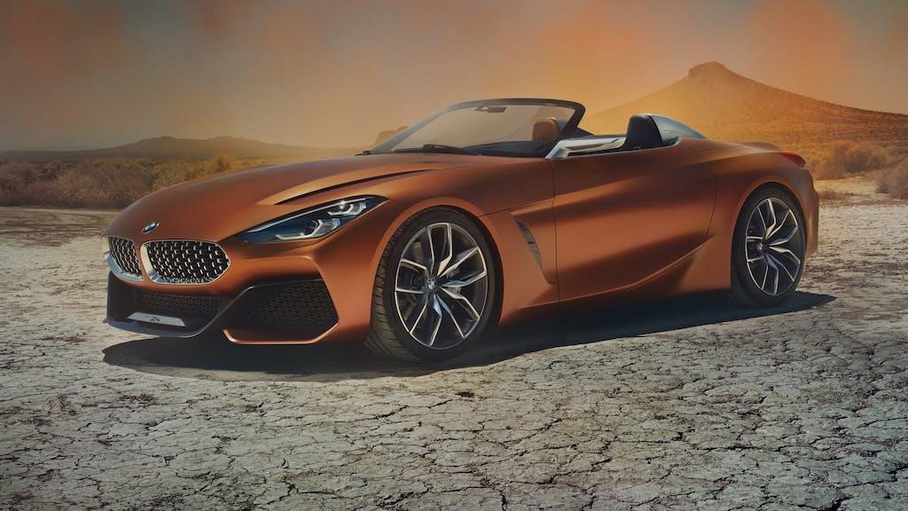 BMW Z4 Concept: una linea da urlo
