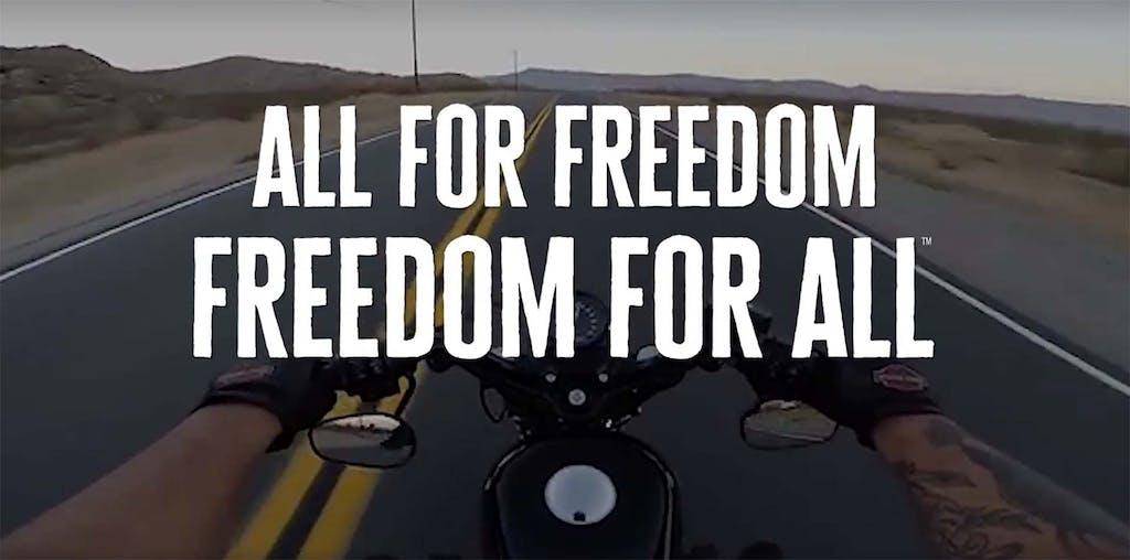 Harley-Davidson, nuovo slogan