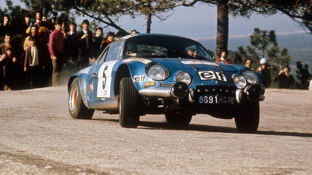 La storia della Alpine A110