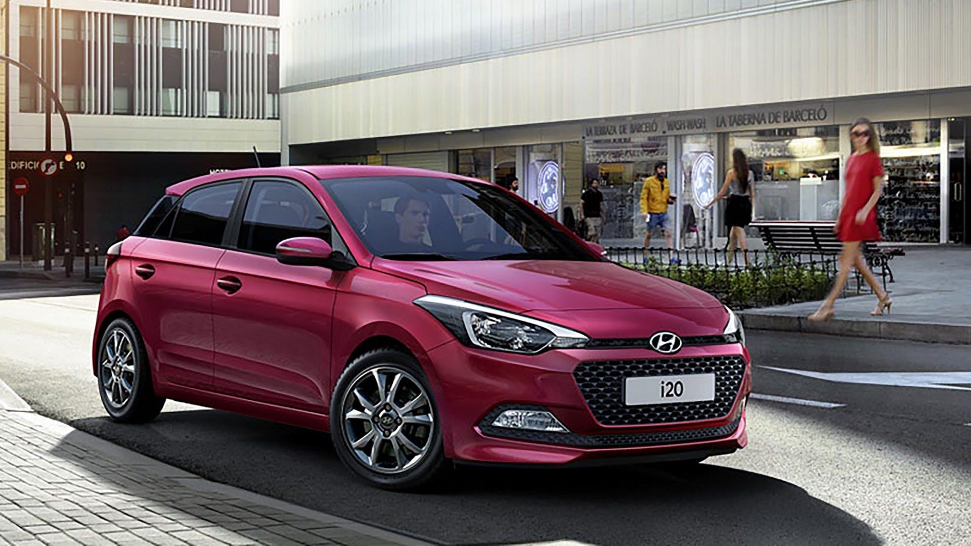 Hyundai I20 rossa, migliori auto a GPL