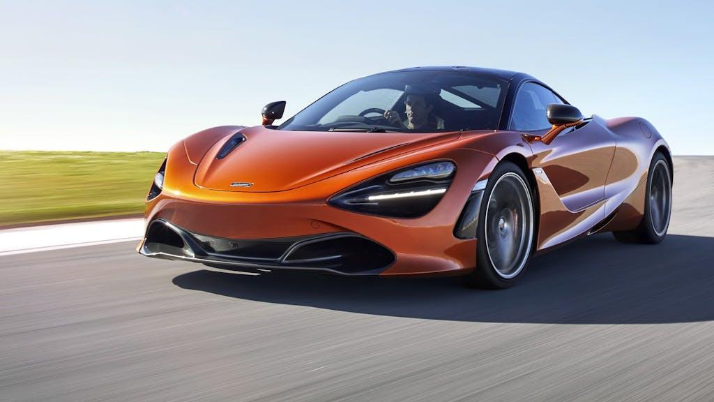 McLaren 720S: la forza scorre potente