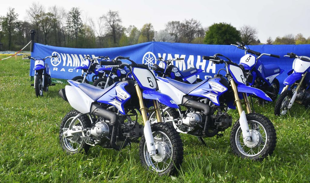 Yamaha e Junior Moto School formano i piccoli biker