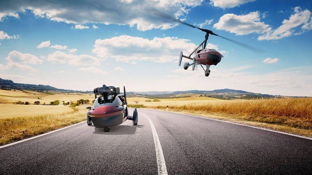 Pal-V Liberty: l'auto volante è realtà
