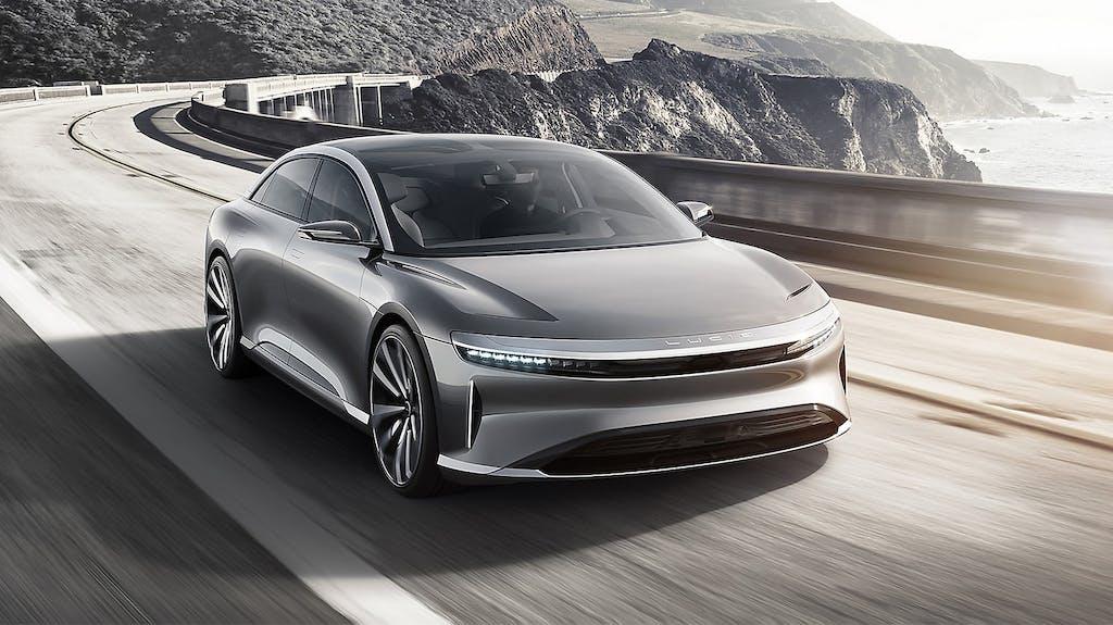 Lucid Motors Air: 1.000 cv per sfidare Tesla
