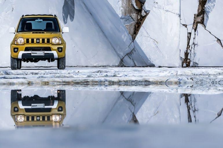 Suzuki Jimny Shinsei, foto statica in cava