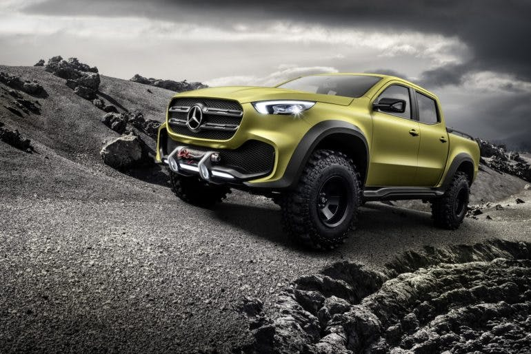 Mercedes-Benz Classe X Powerful Adventurer