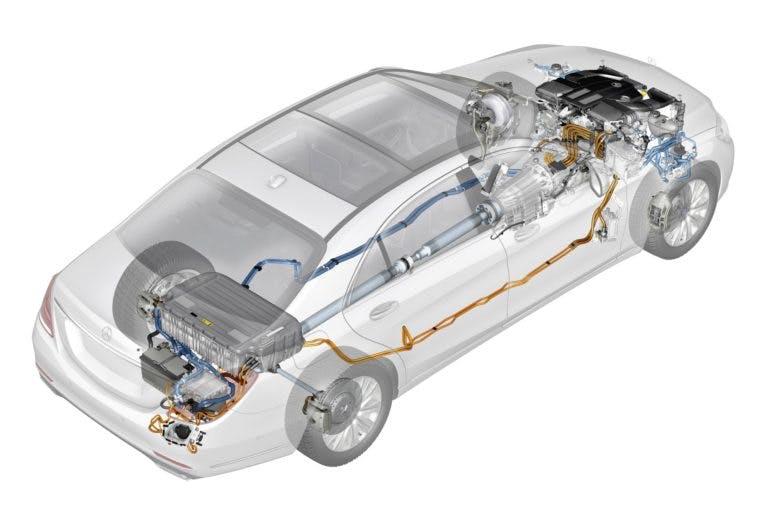 Mercedes-Benz S 500 PLUG-IN HYBRID, Technik ; Mercedes-Benz S 500 PLUG-IN HYBRID, technic;