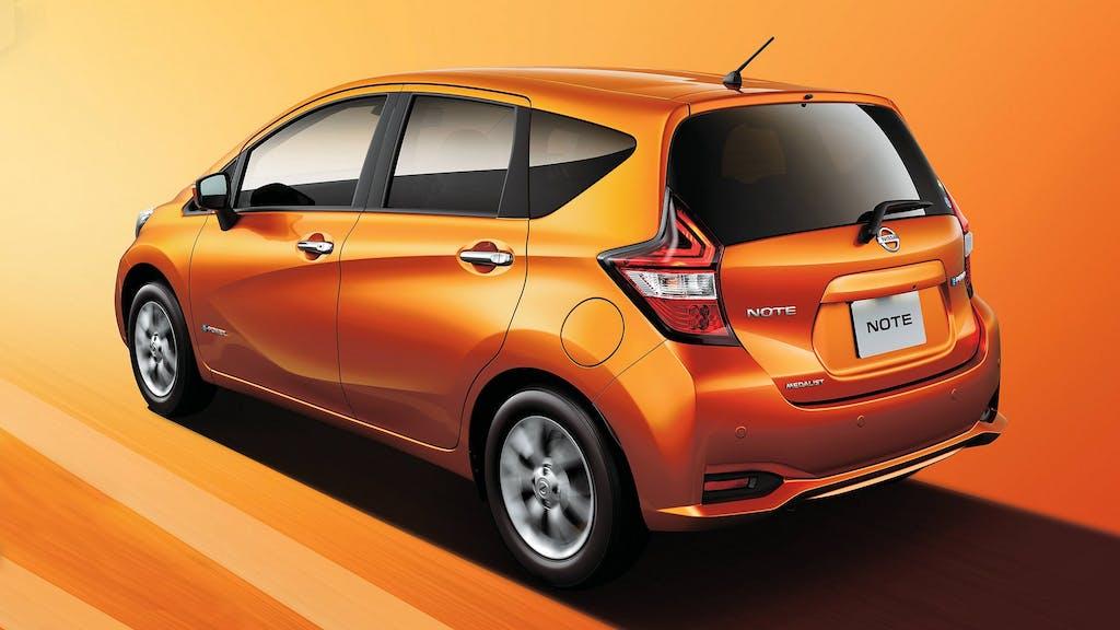 Nissan eNote: range extender alla giapponese