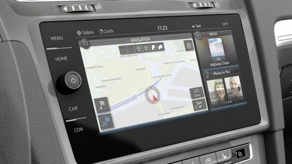 Volkswagen e-Golf Touch: tutto con un gesto