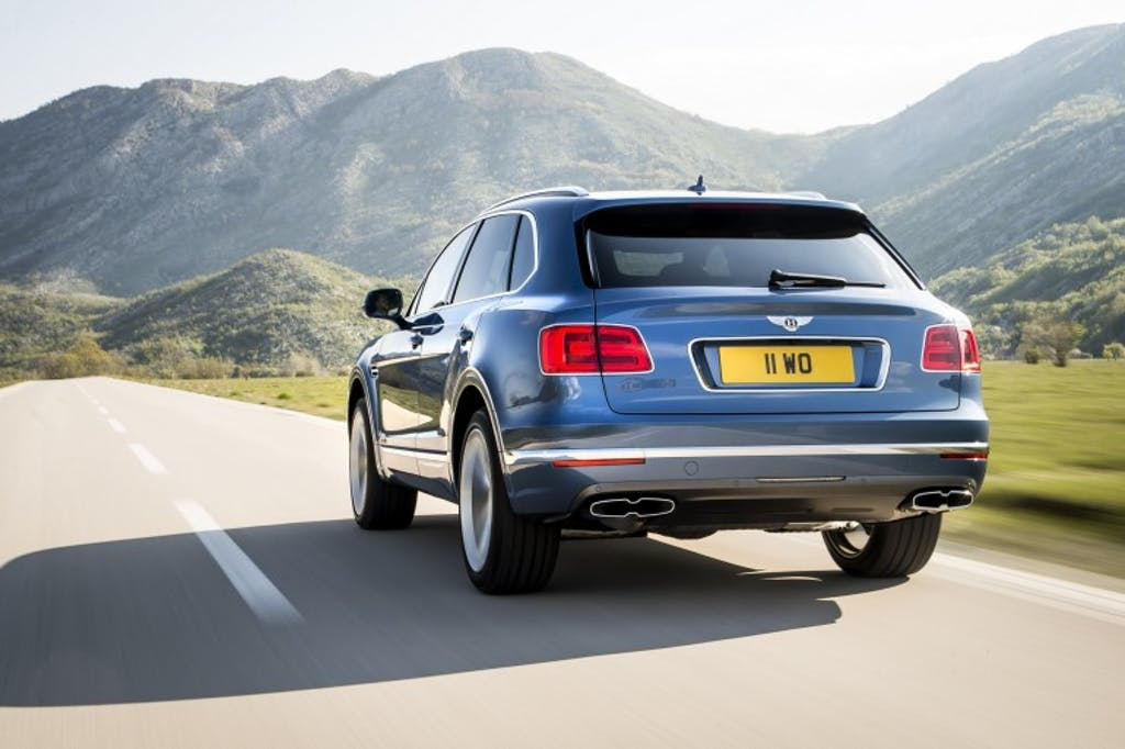 Bentley Bentayga Diesel: il gasolio è nobile