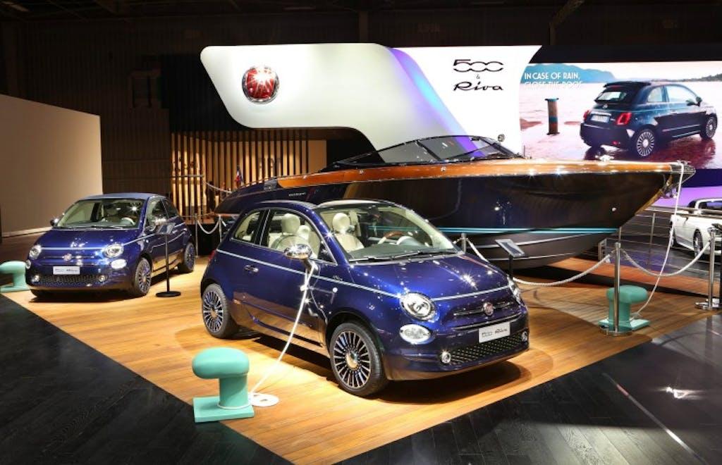 Fiat 500 Riva Tender to Paris: speciale più più
