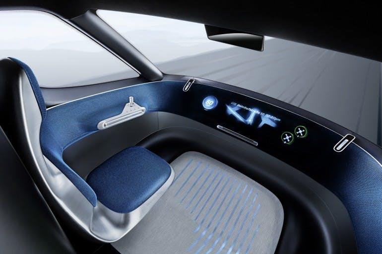 Mercedes-Benz Vision Van – Interior ; Mercedes-Benz Vision Van – Interior;