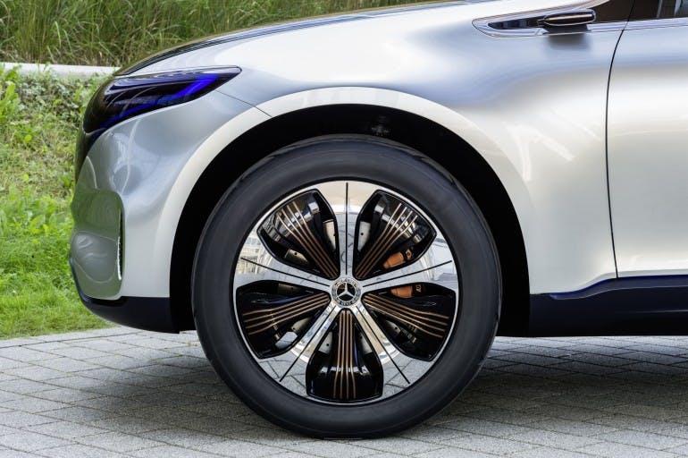 Generation EQ, Exterieur, 21-Zoll-Felgen ; Generation EQ, exterior, 21-inch wheels;