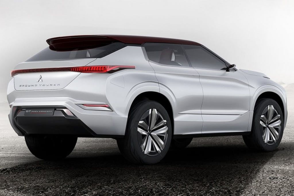 Mitsubishi GT-PHEV: uno sguardo al domani
